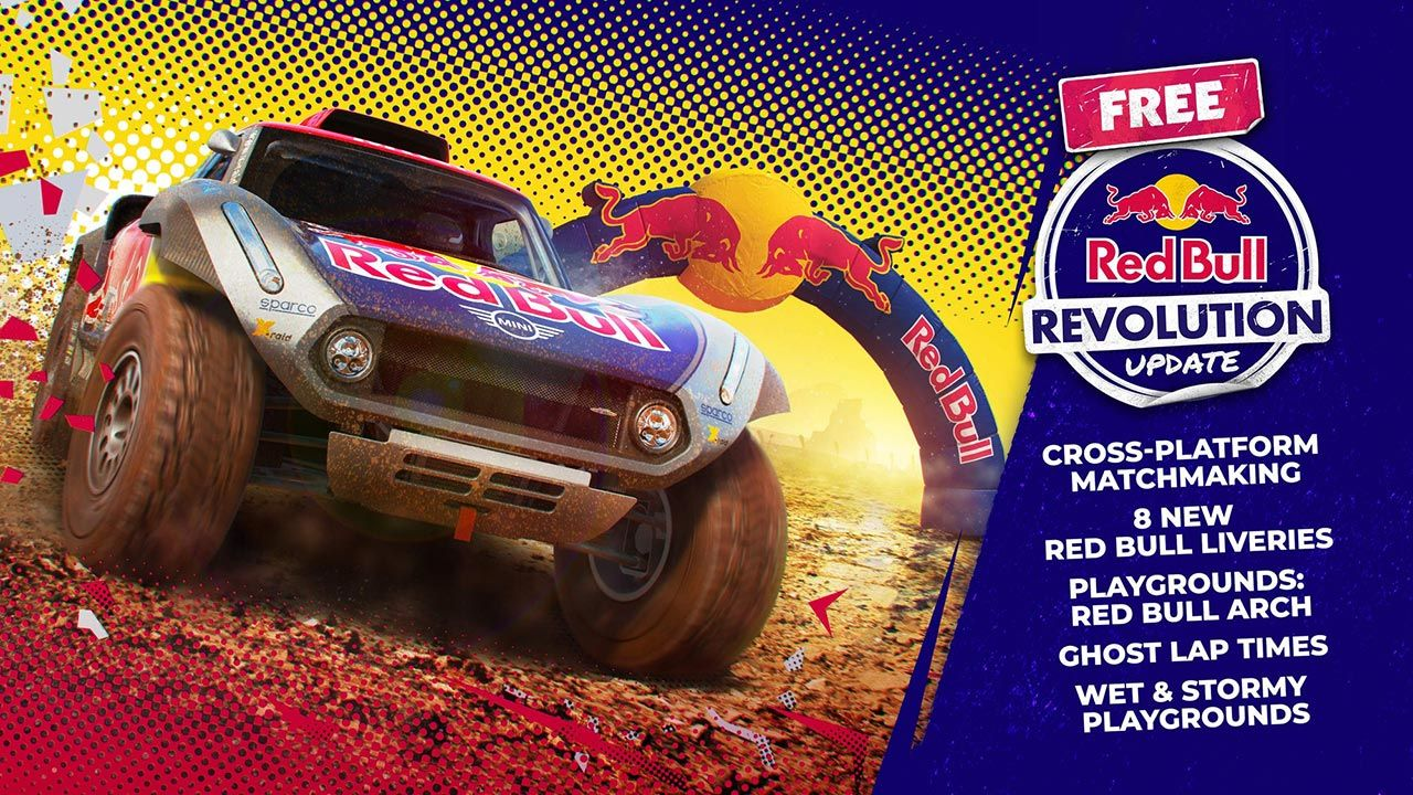 Dirt 5 Update 4.03 distributed - Notes on the patch Red Bull Revolution