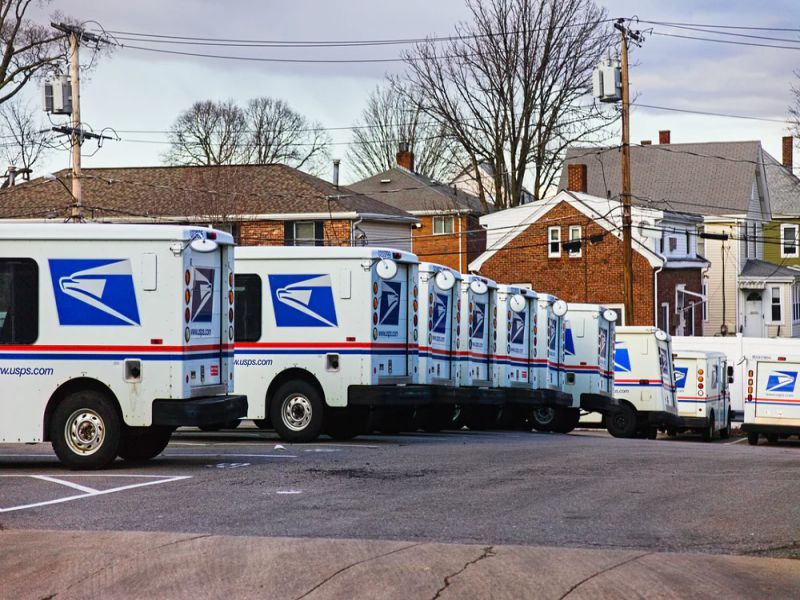 Mail Delivery Trucks